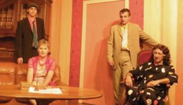 Tante Ernestine est arrivée Section Théâtre de ASC St Michel de Riespach